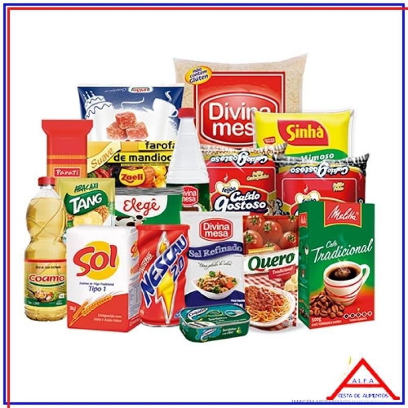 Cesta Básica de Alimentos para Doação Valor Ponte Rasa - Cesta Básica de Doação