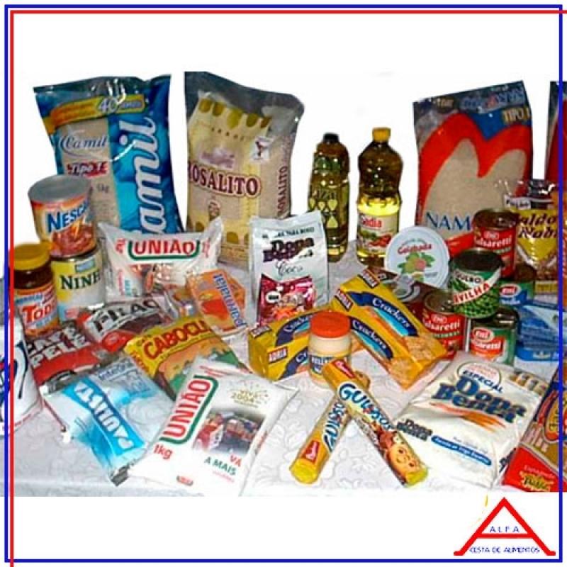 Cesta Básica de Alimentos para Doação Penha - Cesta Básica de Alimentos para Doação