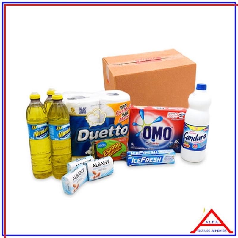 2dd67a470f cesta de produtos limpeza orçamento Caieras