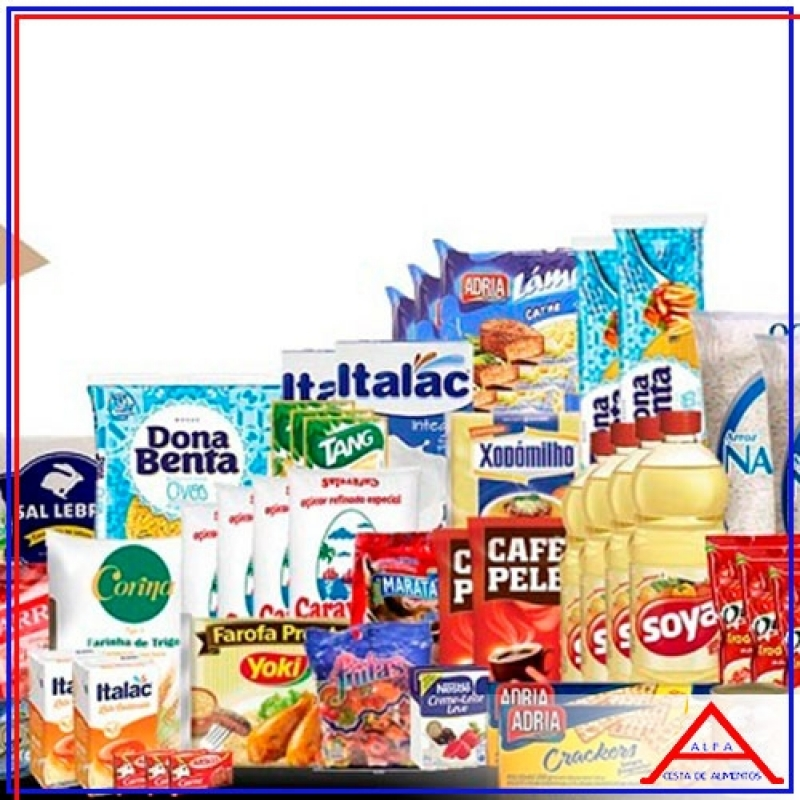 Comprar Cesta Básica Alimentos Bela Vista - Comprar Cesta Básica pela Internet