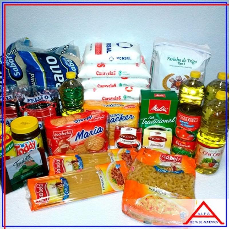 Comprar Cesta Básica de Alimentos para Doação São Mateus - Cesta Básica de Alimentos para Doação