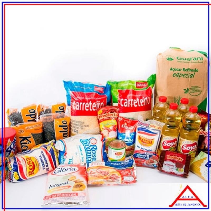 Comprar Cesta Básica de Doação Vila Maria - Cesta Básica de Alimentos para Doação