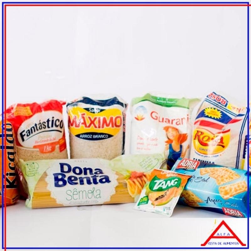 Comprar Cesta Exclusiva para Doação Bixiga - Cesta Básica de Alimentos para Doação