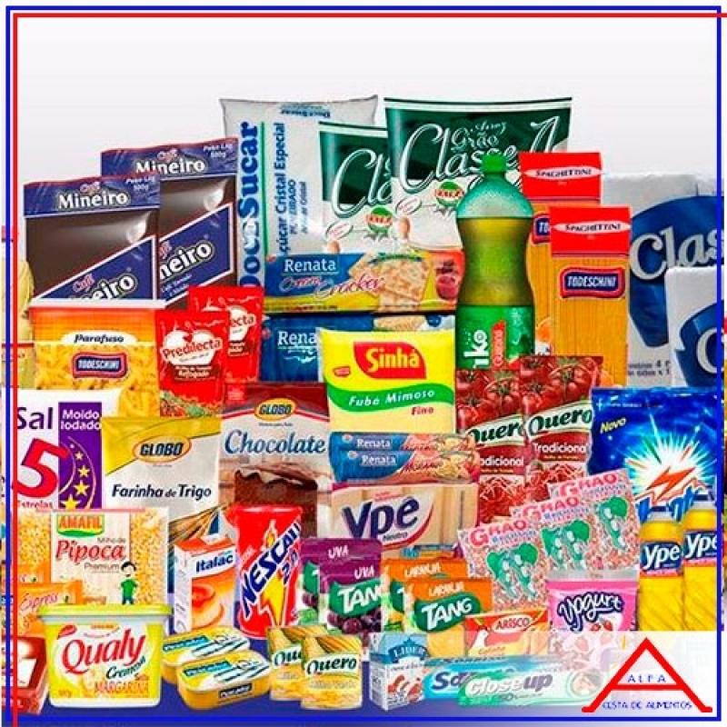 Comprar Cesta Natalina para Doação Itaim Bibi - Cesta Básica de Alimentos para Doação