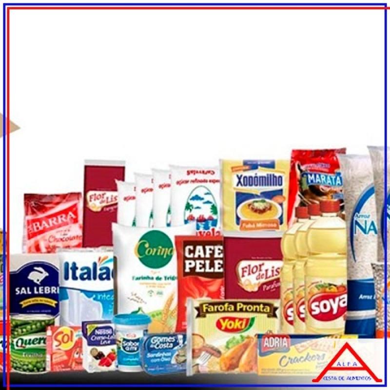 Empresa Que Monta Cesta Grande de Alimentos para Doação Anália Franco - Cesta para Doação