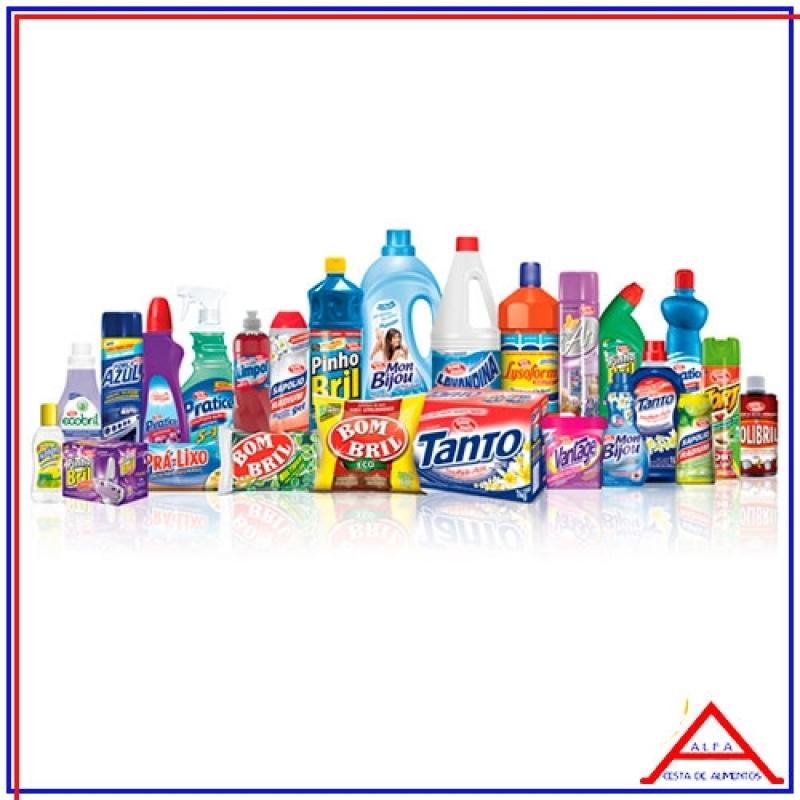 Empresa Que Vende Cesta Básica Material de Limpeza Consolação - Cesta Básica com Produto de Limpeza