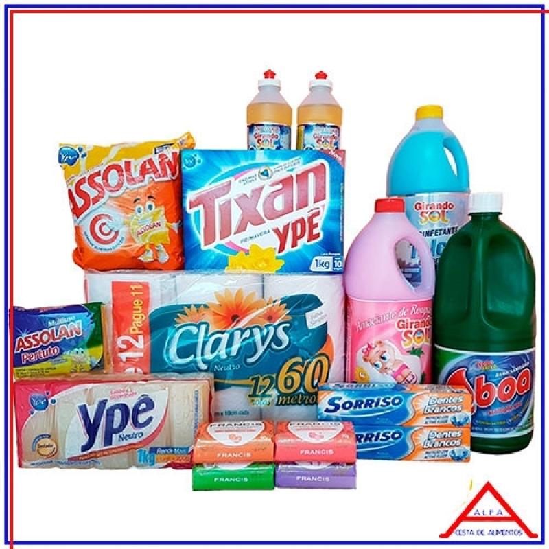 989a391c70 Onde Comprar Cesta Material de Limpeza Cidade Dutra - Cesta com Produtos de  Limpeza