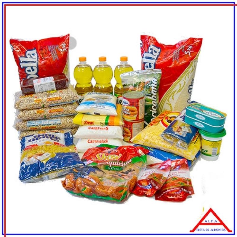 Preço da Cesta de Alimentos Supermercado Brás - Cesta Básica de Alimentos Grande