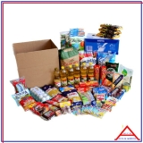 caixa cesta básica personalizada Pacaembu