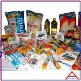 cesta básica de alimentos para doação Nossa Senhora do Ó