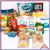 cesta básica de supermercado personalizada Pedreira