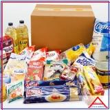 cesta básica para doação valor Vila Gustavo
