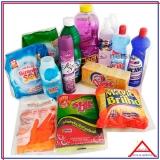 cesta com produtos de limpeza valor Vila Endres