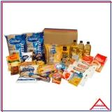 cesta de alimentos completa Santa Efigênia