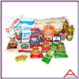 cesta de alimentos desenho encomenda Campo Limpo