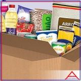 cesta de alimentos para 30 dias encomenda Ipiranga