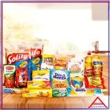 cesta de alimentos para funcionários á venda Perus