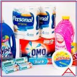 cesta de material de limpeza valor Pacaembu