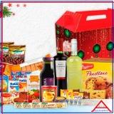 cesta de natal para colaboradores preço Santa Cecília