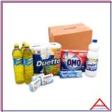 cesta de produtos de limpeza orçamento Água Funda
