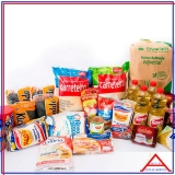 cesta higiene para doação Vila Cruzeiro