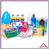 cesta básica material de limpeza