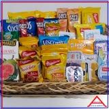 cesta para presentear colaboradores á venda Perus