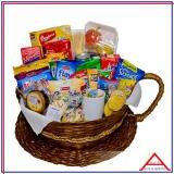 cesta para sortear em empresa á venda Aclimação