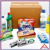 cesta produtos de limpeza orçamento Vila Mazzei