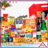 comprar cesta de natal para montar Santa Efigênia