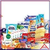 empresa que monta cesta básica de alimentos para doação Vila Romana