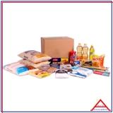 empresa que monta cesta com produtos básicos para doação Anália Franco
