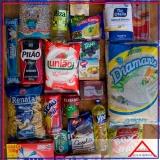 preço da cesta de alimentos desenho Parque Dom Pedro