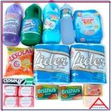 produtos de limpeza cesta básica valor Casa Verde