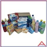 produtos de limpeza cesta básica M'Boi Mirim