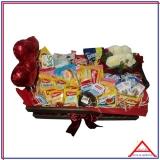 quanto custa caixa cesta básica personalizada Ibirapuera