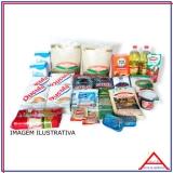 valor da cesta básica de alimentos grande Parque Dom Pedro